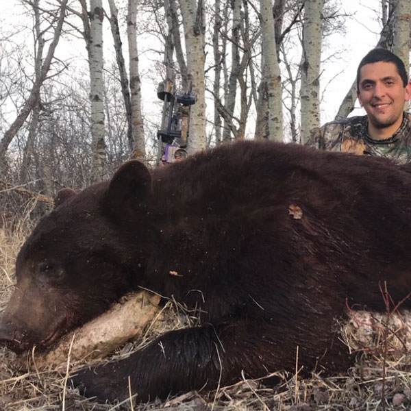 Bear Hunting in Manitoba, Canada